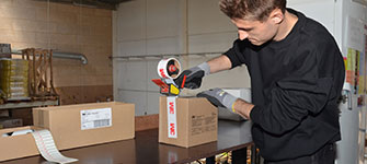 indpakning, industriservice, tape,