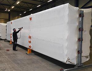Krympepakning Af Industri Emballage
